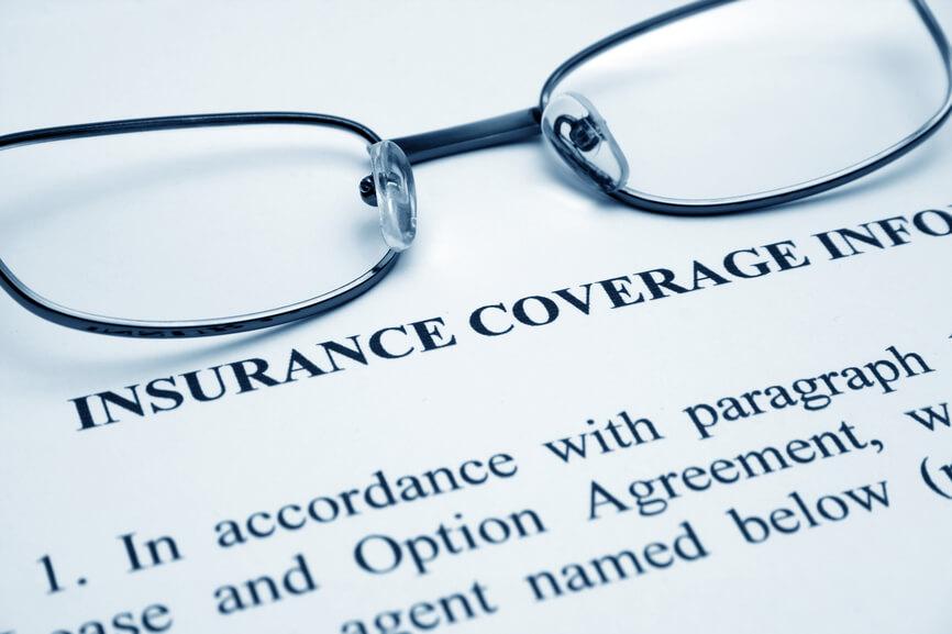 glasses on insurance coverage info