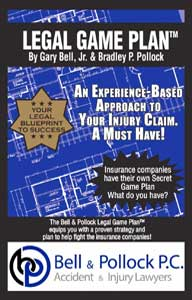 Legal Game Plan flyer for Bell and Pollock P.C.