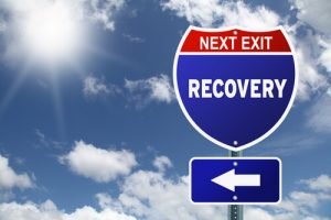 Car Accident Recovery Sign
