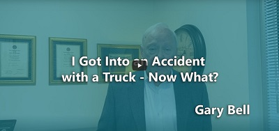 I Got Into An Accident With A Truck - Now What?