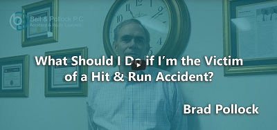 What Should I Do If I'm the Victim of a Hit and Run Accident?