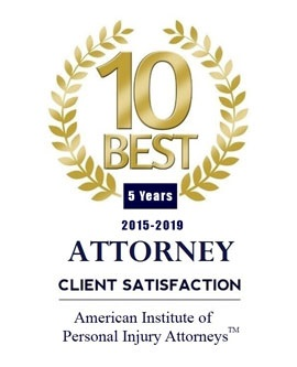 10 Best Personal Injury Attorneys 5 Years logo