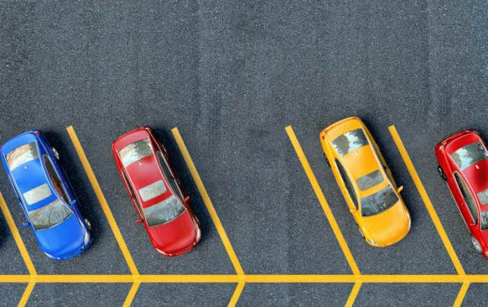 Parking Lot from above