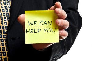 we can help post-it