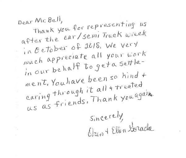 Gracke thank you note